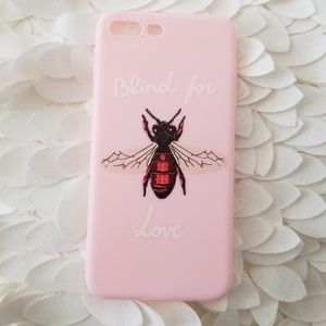 GORGEOUS BEE IPHONE 7PLUS & 8PLUS CASE NEW